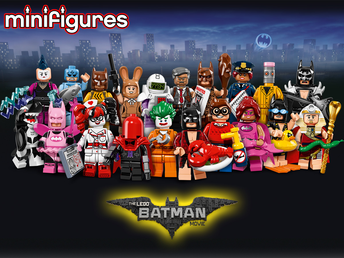 レゴ バットマン ザ・ムービー ミニフィギュアシリーズ 71017